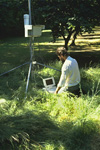 Figure 11. Automated weather station used to provide data for epidemiological models. (Courtesy J. Pinkerton)