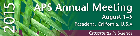 2015 APS Annual Meeting Abstract