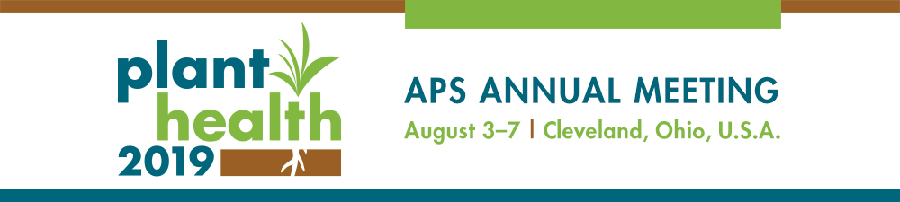 Plant Health 2019 APS Annual Meeting Abstract