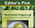 Editor's Pick: Plant Health Progress